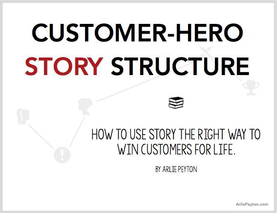 customer-hero story structure image