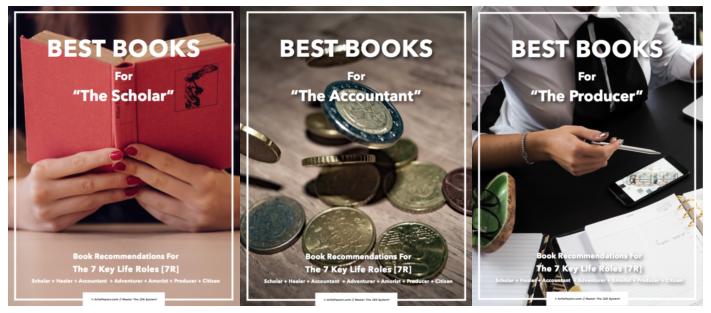 book list trio image