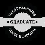 guest blogging graduate seal